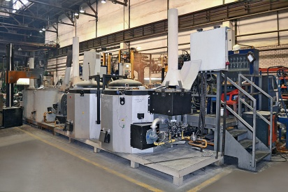 Capability of piston casting line had been increased