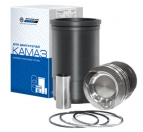 New product! Piston set for KAMAZ gas engines
